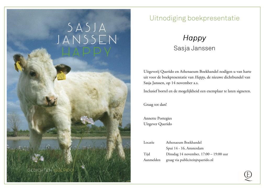 Uitnodiging presentatie HAPPY